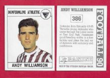 Dunfermline Athletic Andy Williamson 386